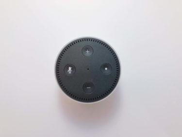 Amazon echo dot、長期使用レビュー!アレクサ、活用してます