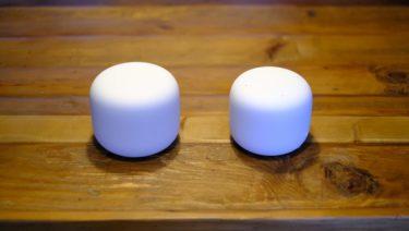 自宅のwi-fiルーターをGoogle NEST Wifiと拡張ポイントにした